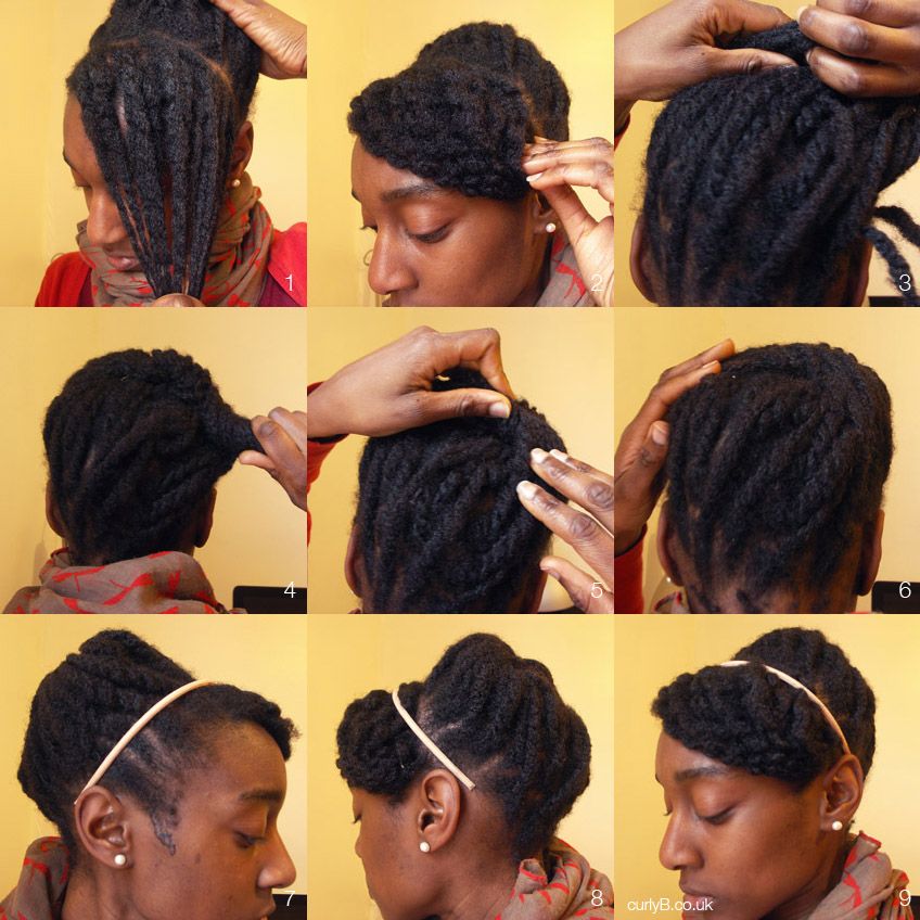 Yes You Can 4c That Style Style 001 The Loose Twist Beehive Curlyb