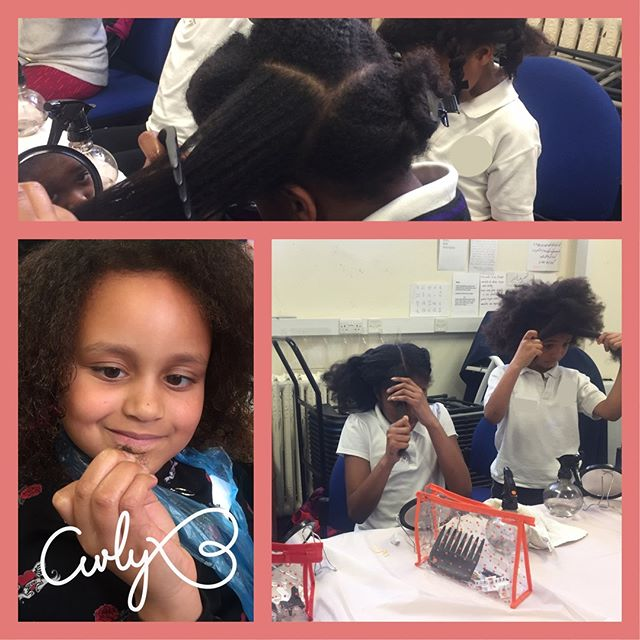 An excellent effort from all of our attendees at the very first hair club! It was fabulous to see so many beautiful textures represented in one room. They all enjoyed getting to grips with their new hair kits and learning some simple hair science.⠀ #curlyhair#type4naturalhair #mynaturalsistas#protectivestyles #kinkycurly#hairproducts #beauty #fro #kinkyhair#naturalhairstyles #twostrandtwist#healthyhairjourney #uniqueafterschoolclub #blackhair#naturalhair #catford