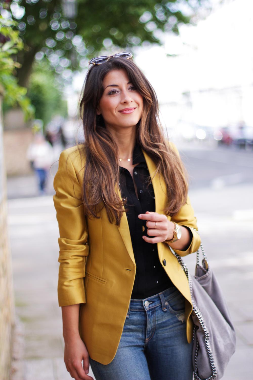 OOTD: The Golden Blazer