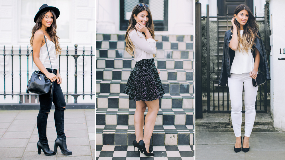 865e4c796e1dd When in doubt I always wear black and white. It's a simple and timeless  combination that oozes class and simplicity. I have created this spring  Lookbook to ...