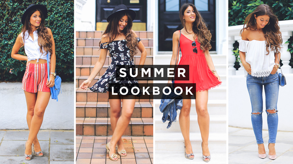 8c86cb4bf40e Here are some simple feminine outfit ideas for the beautiful summer days.  Scroll down for all the outfit details and links. Let me know which look is  your ...