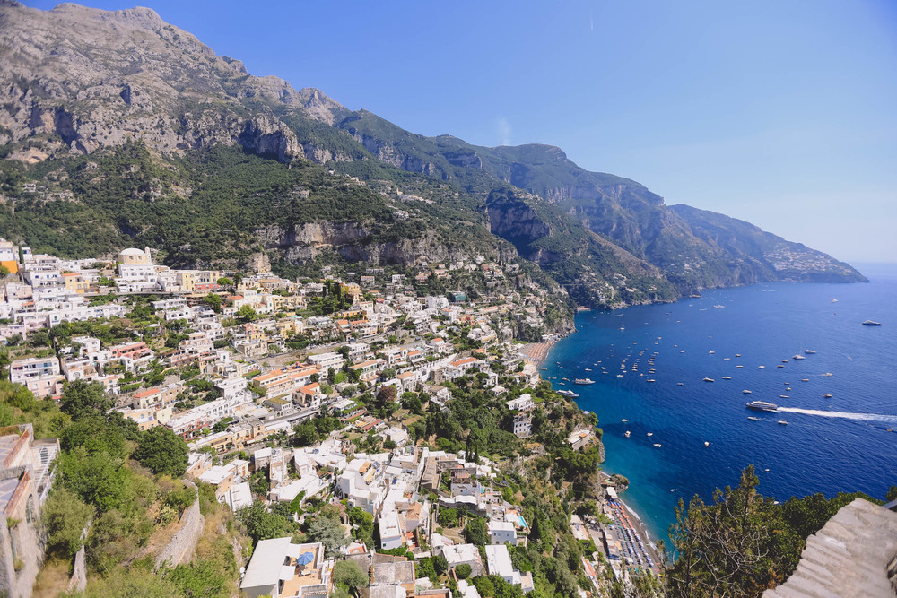 The picturesque drive from Naples to Amalfi Coast