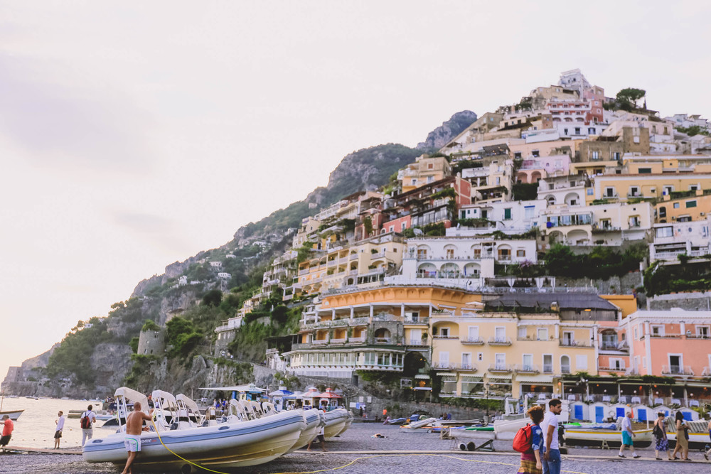 Main Positano beach