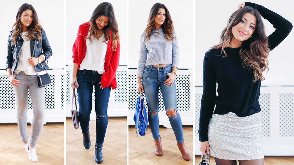 3c2de03eb15b2 Once the weather gets cooler I pretty much live in sweaters. Can you  relate? I know it can get a bit boring to wear good old sweater and jeans  everyday ...