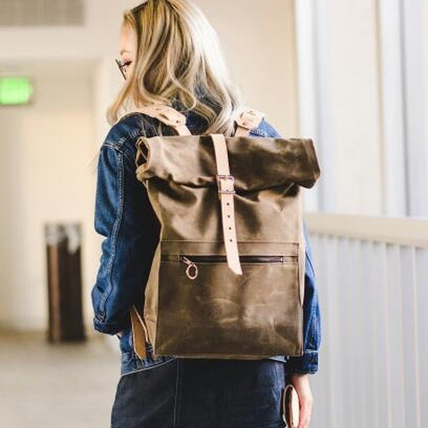 New year. New backpack. Hoping to get some new design and new colors going soon. Thanks @yourdoseoftea for the rad shot