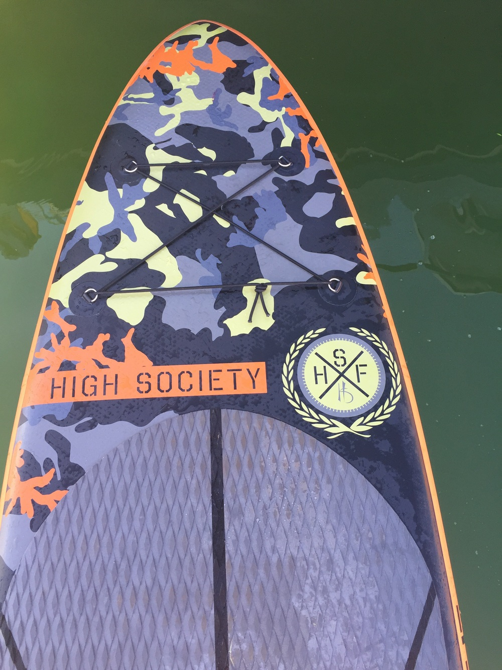SUP trips on High Society's Northstar iSUP.