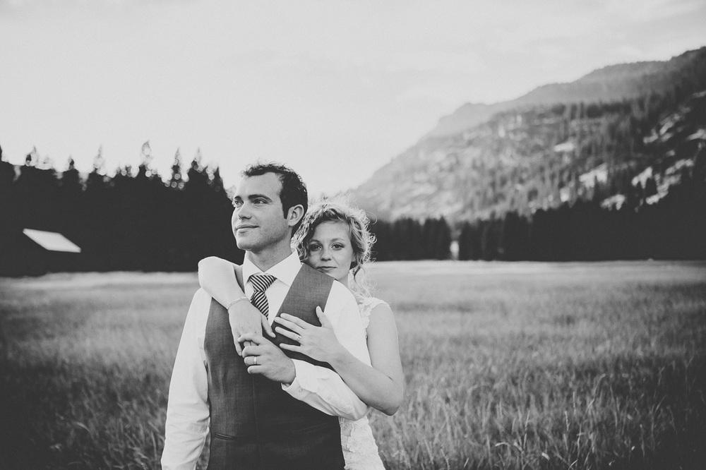 Reid & Bryna take a moment // Mazama, Washington