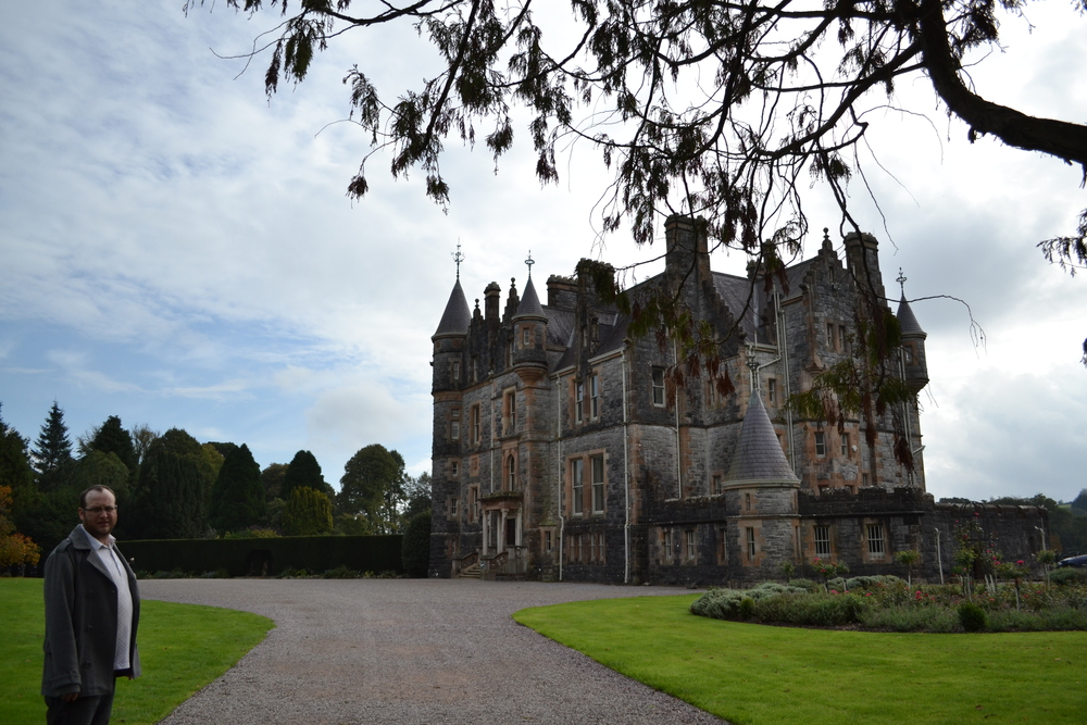 This is where the owner of the Blarney Castle lives
