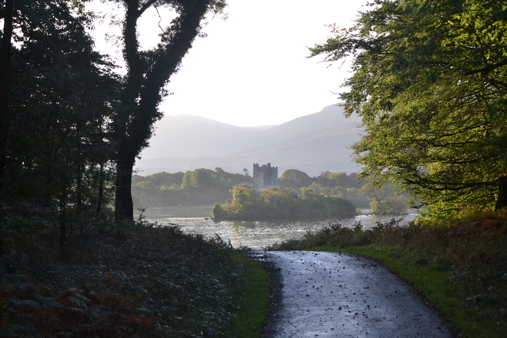 Our first view of Ross Castle