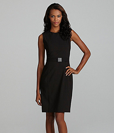 The little black dress is not only professional, but sexy as well. Wear it to work or to an interview, as well as after 5 festivities.