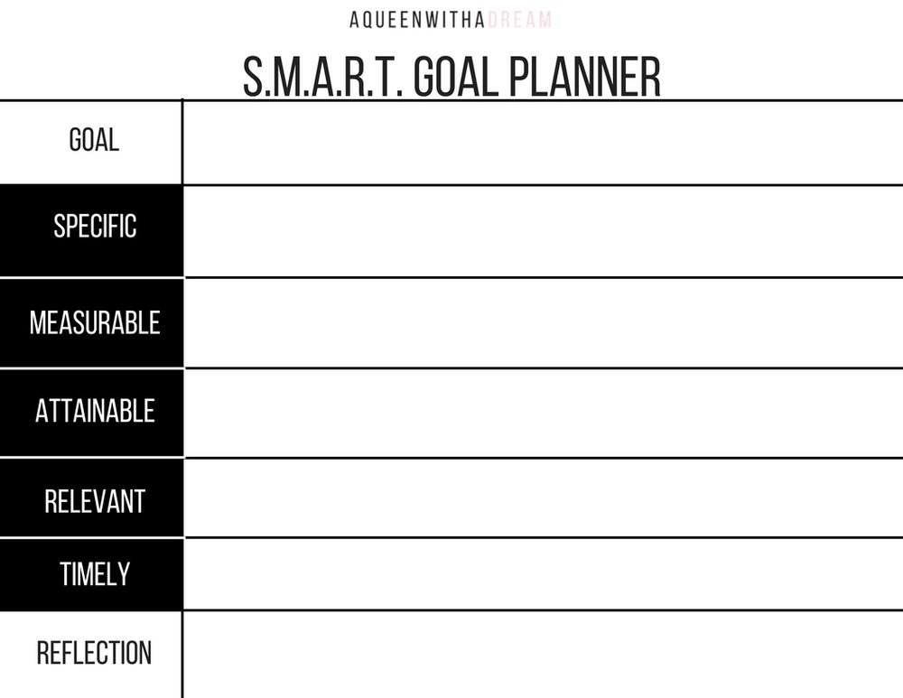 The vision doesn't work unless you do! Use this goal planner to set strategies for reaching your goals.