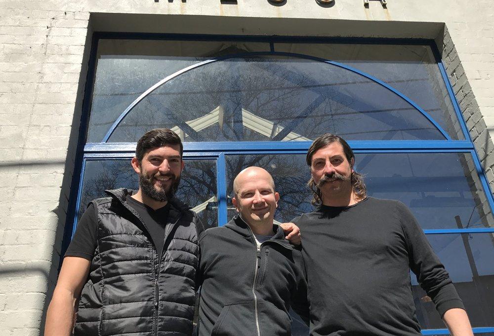 Zoltan, Pasi & Dennis