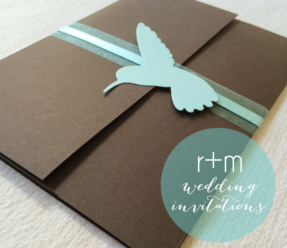My Wedding Invitation Suite songbird paperie