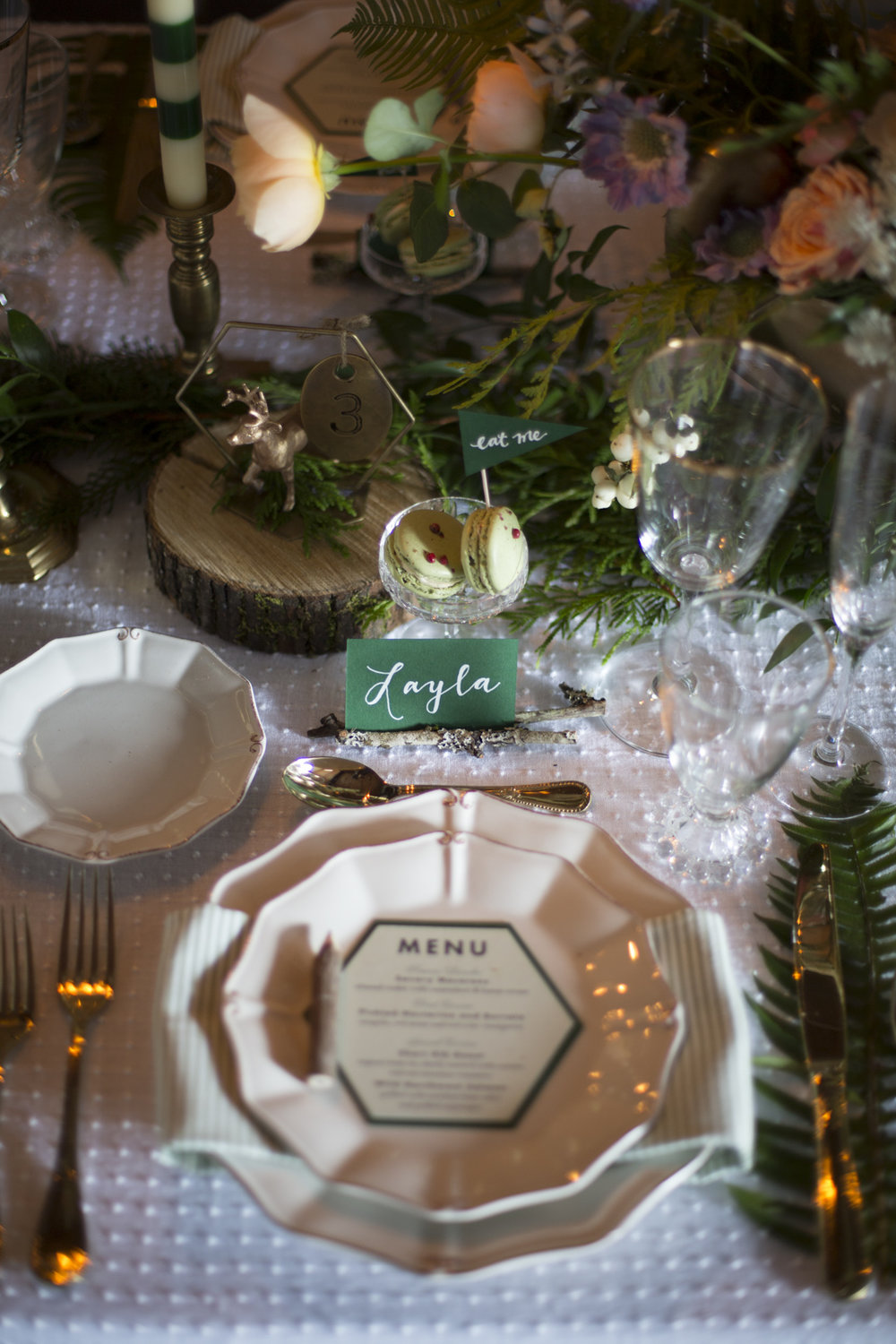 Rustic Wonder Place Setting