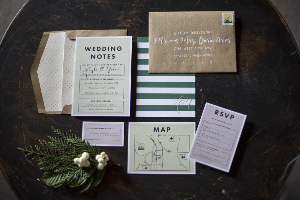 Wedding Notes Suite