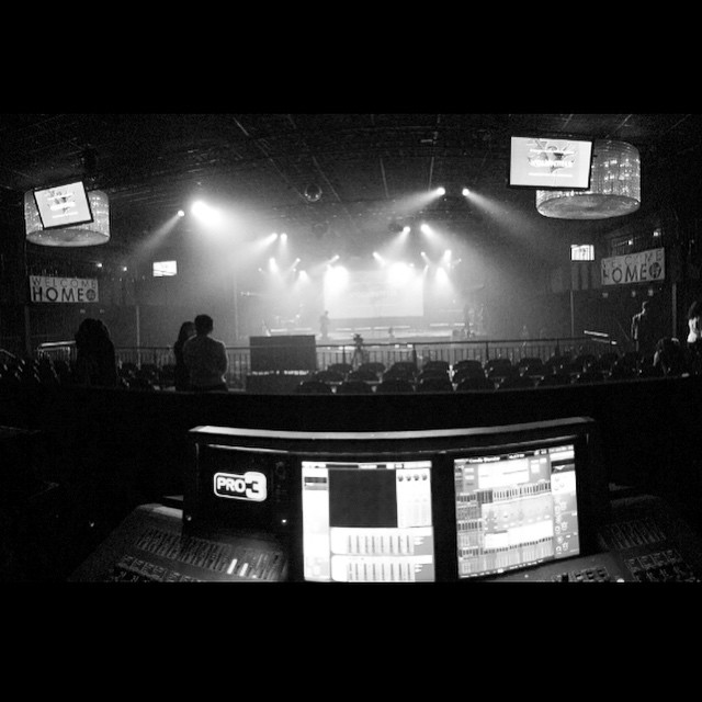Already reminiscing about last night at church.. So thankful to be a part of the awesome audio team at @hillsongnyc.