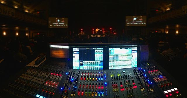 """Sometimes His best work is not what he does for us but what He does in us."" Best seat to hear Priscilla Shirer speak. . . . . . . #midasconsoles #livesound #foh #hillsongnyc"