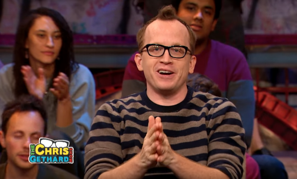 Chris Gethard Show - A2 for live in-studio mix for guest and house band.
