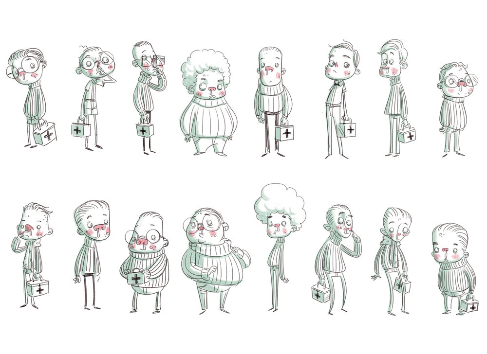 Character Design Personality : Character design — the art of kate moon