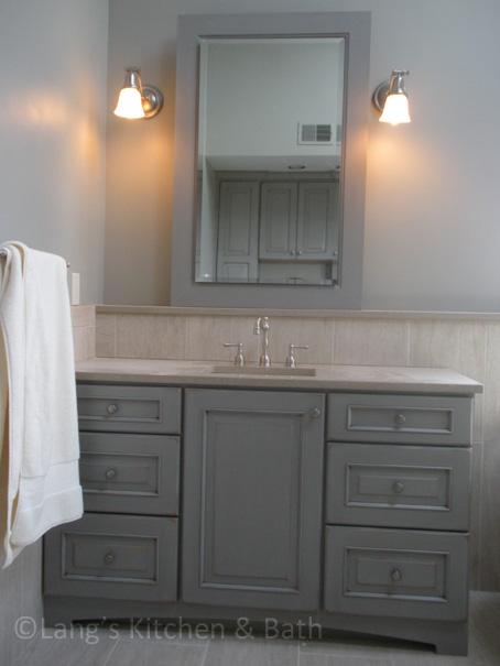Gray Bathroom Designs Done Your Way — Kitchen & Bathroom Design ...