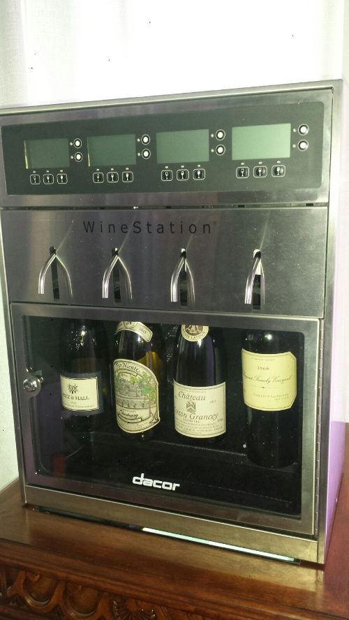 Dacor Discovery WineStation displayed at KBIS.