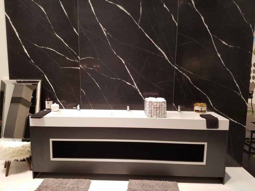 Silestone bathtub