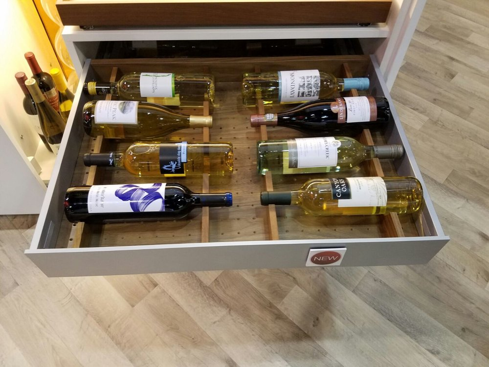 Hafele wine storage drawer