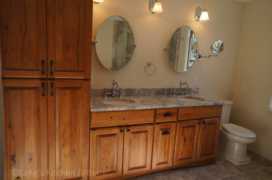 country style bathroom design