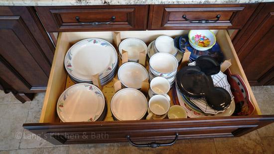 Peg drawer storage system