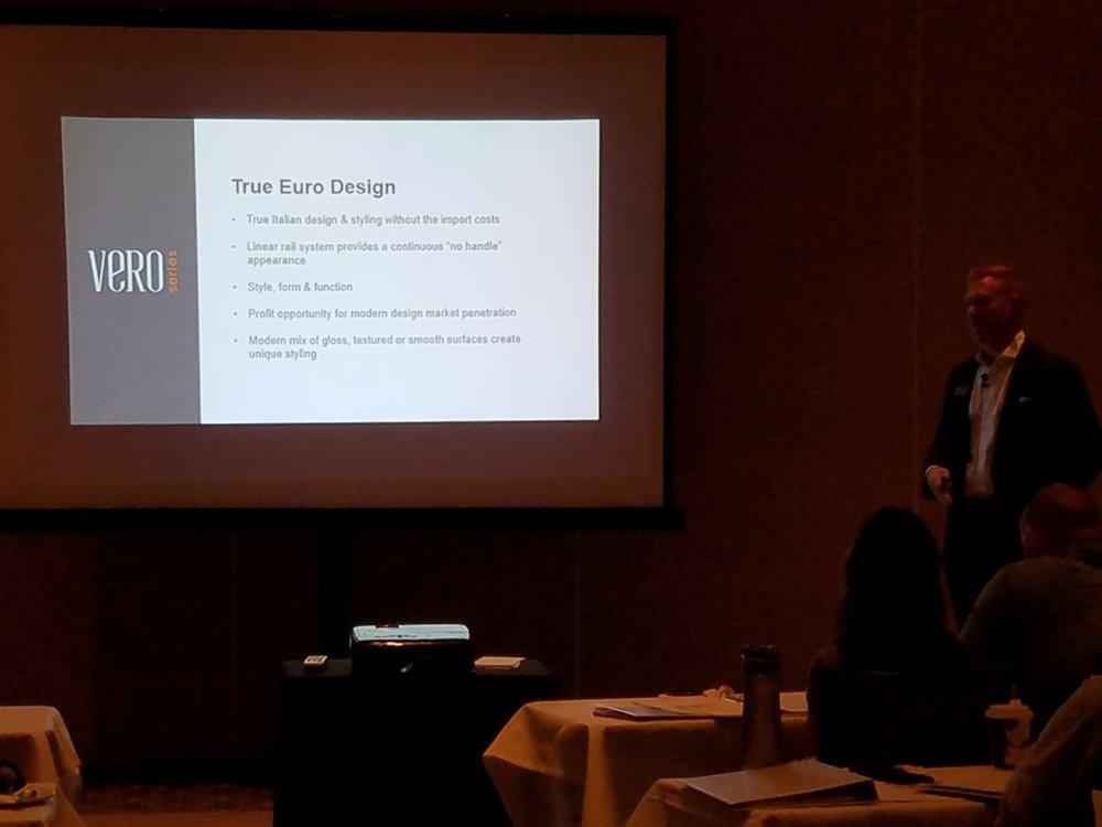 Bellmont Cabinet Co. presentation at SEN Fall 2017 Conference