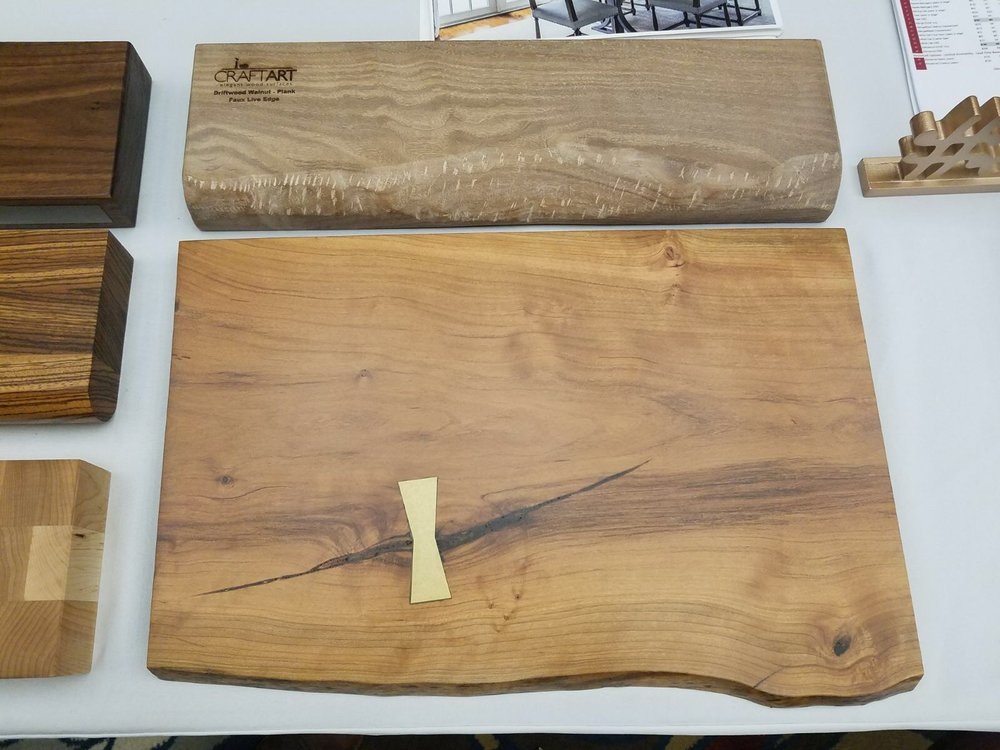 CraftArt wood countertop finishes at SEN Fall 2017 Conference