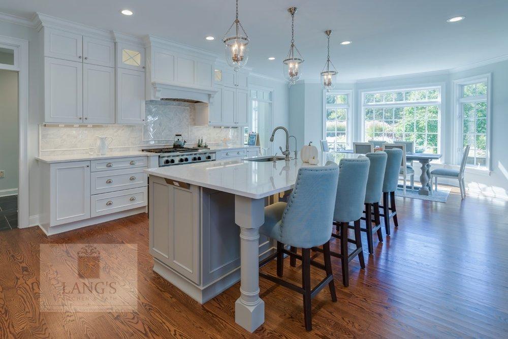 Large kitchen design