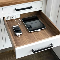 Docking Drawer charging station and storage