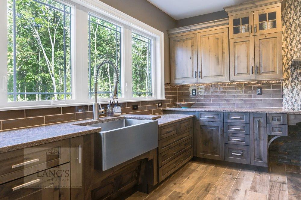 Accessible kitchen sink