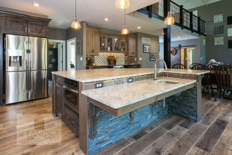 rustic style kitchen design