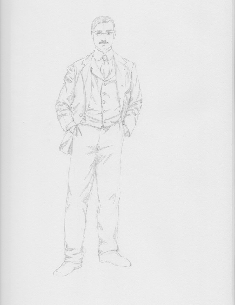 James Poole sketch