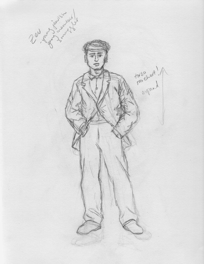 Zev Sketch