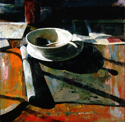 "Bowl and Spoon  20"" x 20"""