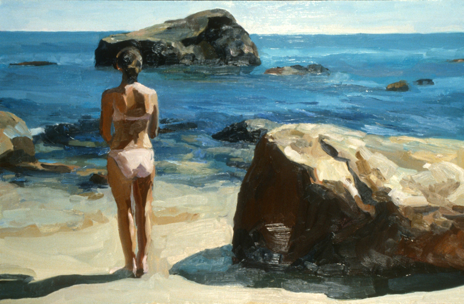 "Summer Day: Block Is. XI  20"" x 36"""