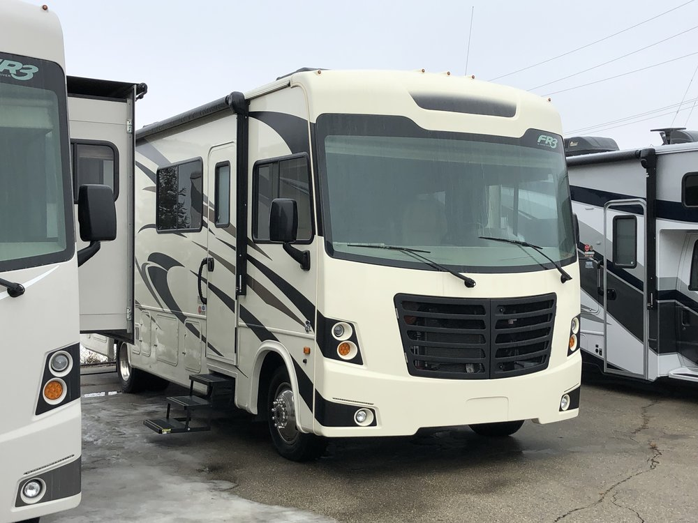 In a motor home - Store marijuana in a cabinet or container out of reach of the driver