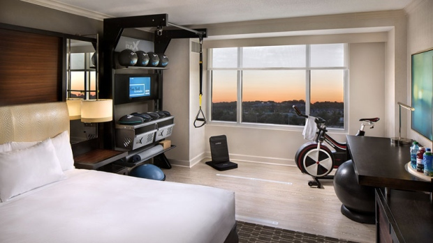 hilton s new game changer for hotel amenities chasing nirvana yoga