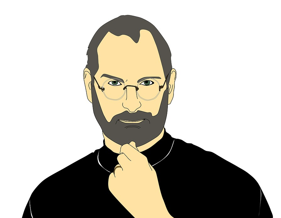 steve jobs illustration
