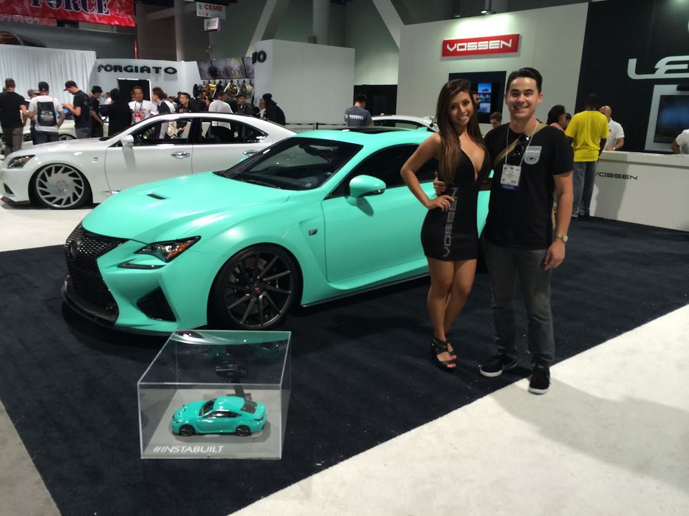 Instabuilt Lexus Rc F X Vossen Wheels