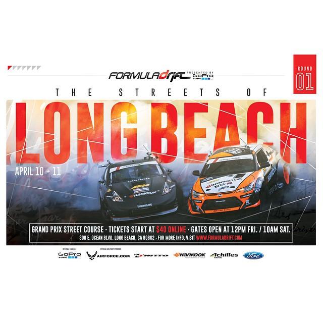 Long Beach Drift Tickets