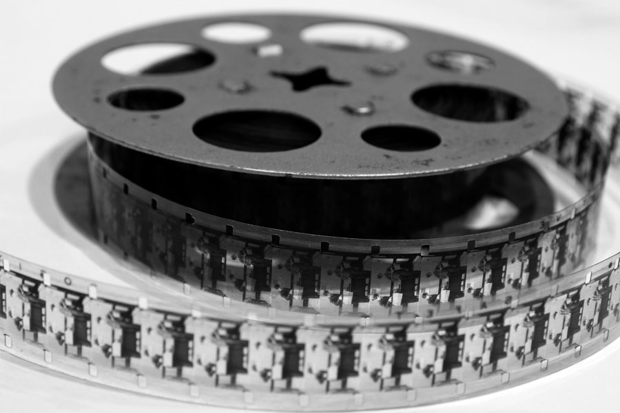 The last 240 frames of the film were included on a spool in an eBay purchase made in January 2013 for a Keystone Kinescope E-32 projector.