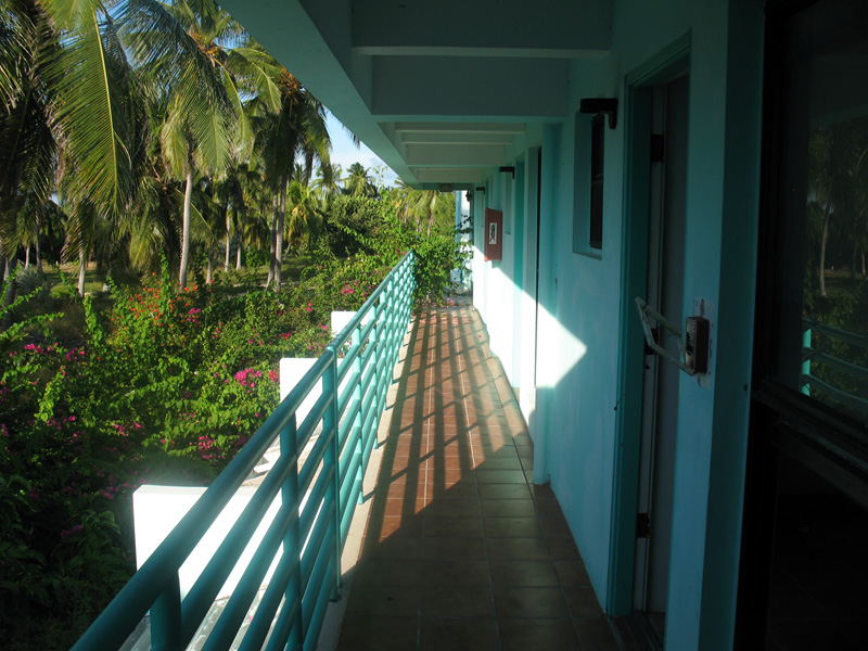 These photos were taken in August 2010, almost four years after Divi Tiara Beach Resort closed.