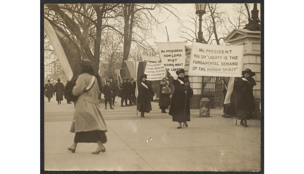 New York Pickets at the White House
