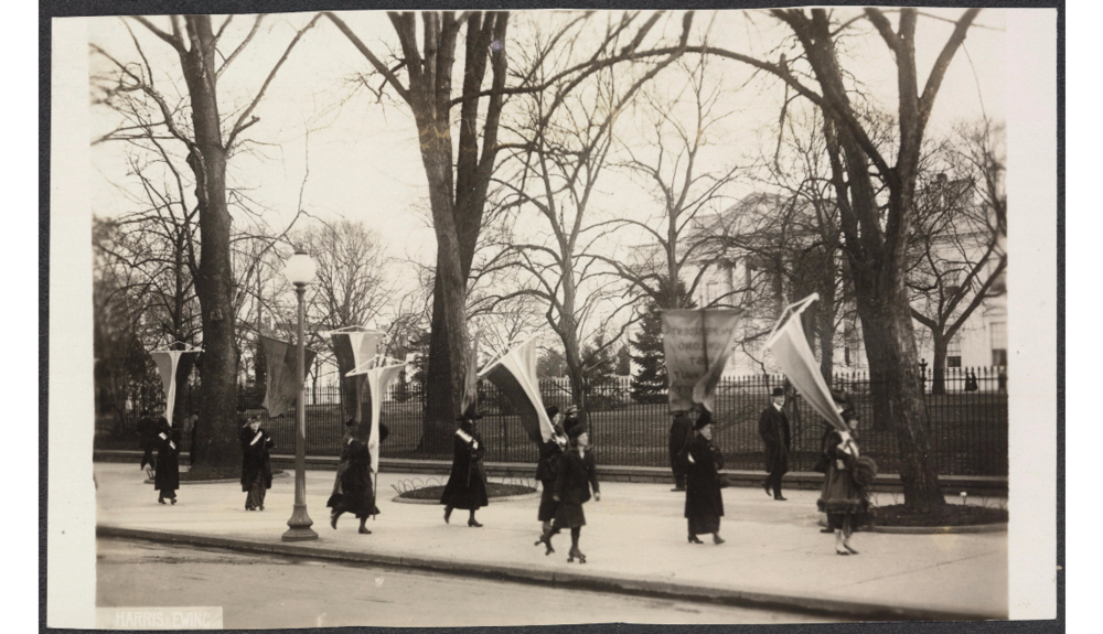 Maryland Day [picketing the White House for suffrage]