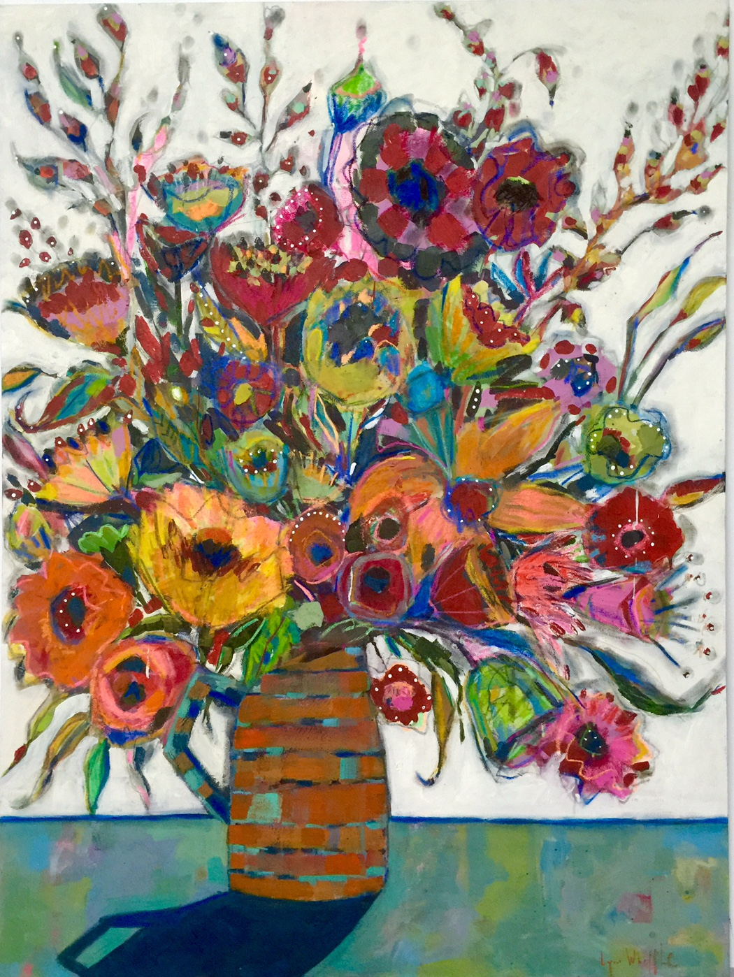 Flower Paintings With Pastel Lynn Whipple