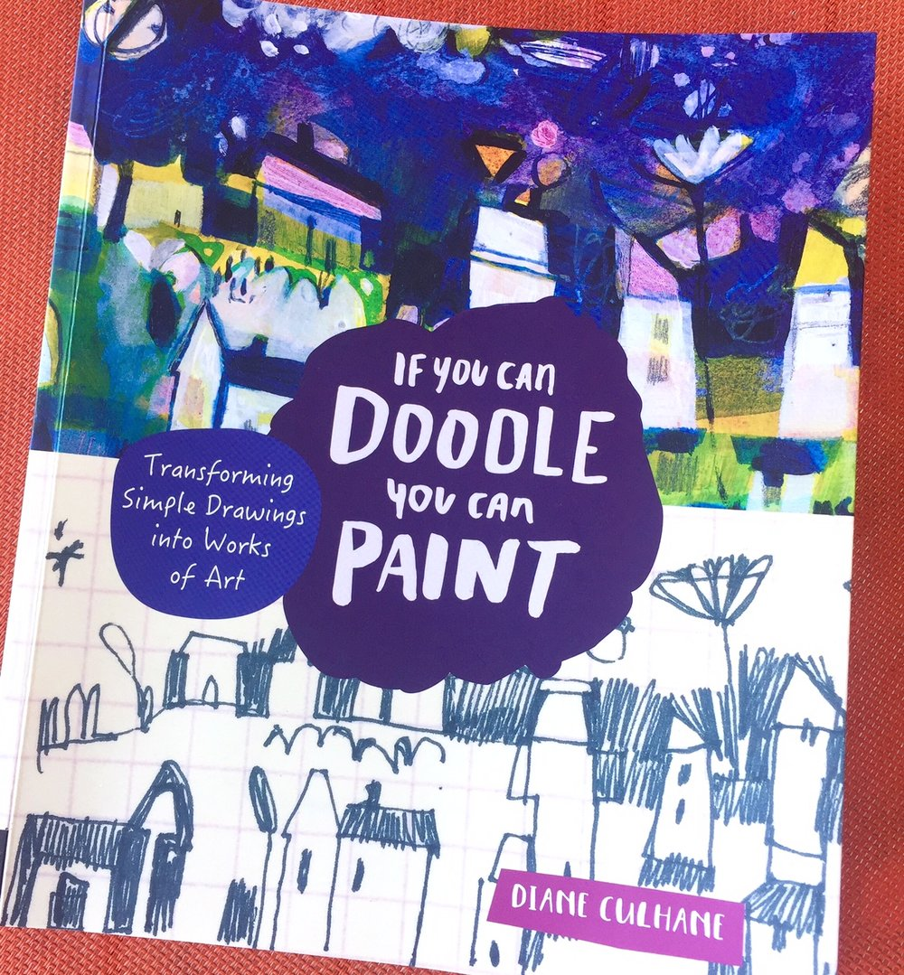 I love this book by amazing artist Diane Culhane. It is chock full of goodness, wonderful art and ideas!